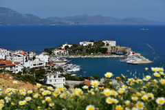 Mediterranean coast in Datca, Turkey Stock Photo