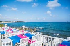 Mediterranean coast Royalty Free Stock Images