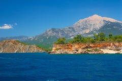 Mediterranean coast, Kemer Royalty Free Stock Photos