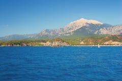 Mediterranean coast, Kemer Stock Photography