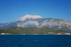 Mediterranean coast, Kemer Royalty Free Stock Image