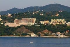 Mediterranean coast, Liguria. Savona, Italy Royalty Free Stock Photography