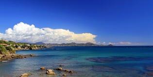 Mediterranean Coast Line, St Aygulf  045 Stock Images