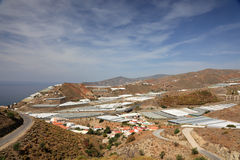 Mediterranean Coast near Almeria Stock Photography