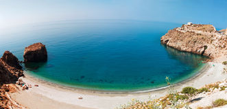 Mediterranean coast, near town of Calahonda, Province of Almeria Stock Photography