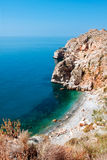Mediterranean coast, near town of Calahonda, Province of Almeria Royalty Free Stock Image