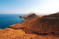 Mediterranean coast, province of Almeria, Spain Stock Images