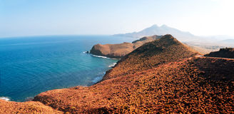 Mediterranean coast, province of Almeria, Spain Stock Photo