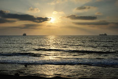 Mediterranean coast Stock Photo