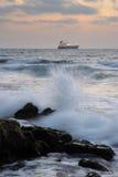 Mediterranean coast Royalty Free Stock Photography