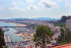 Mediterranean coast of Spain, Costa Brava , Blanes Stock Photo