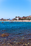 Mediterranean coast of Spain, Costa Brava , Blanes Royalty Free Stock Photography
