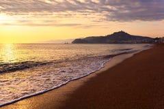 Mediterranean coast of Spain, Costa Brava Stock Images