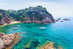 Mediterranean coast of Spain Royalty Free Stock Photos