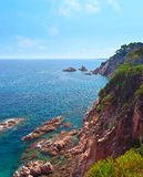 Mediterranean coast of Spain Royalty Free Stock Photo
