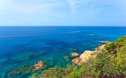 Mediterranean coast of Spain Stock Photography