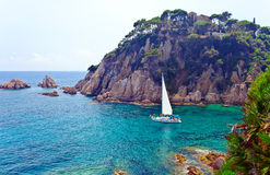 Mediterranean coast of Spain Royalty Free Stock Image