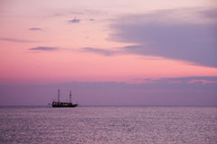 Mediterranean coast of Turkey stock images