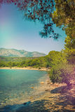 Mediterranean coast, Turkey Kemer Royalty Free Stock Image