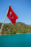 Mediterranean coast, Turkey Royalty Free Stock Photo