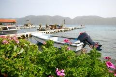 Mediterranean coast, vacation Stock Photos