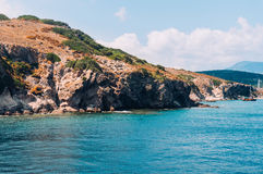 Mediterranean coast Royalty Free Stock Photos