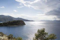 Mediterranean coastal scenery Stock Image