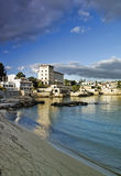 Mediterranean coastal town Royalty Free Stock Photography