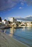 Mediterranean coastal town royalty free stock photography