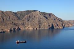 Mediterranean coastline, Spain Stock Photo