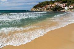 Mediterranean coastline Stock Photography