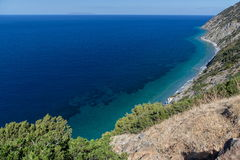 Mediterranean coastline Royalty Free Stock Photo