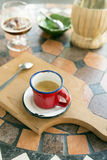 Mediterranean coffee Royalty Free Stock Photos