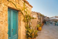 Mediterranean corner Stock Image