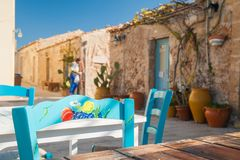 Mediterranean corners Stock Photography