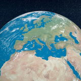 Mediterranean countries - 3D render Stock Photography