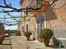 Mediterranean Country House. Typical Country house villa in Majorca Stock Image