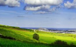 Mediterranean Countryside Stock Photo
