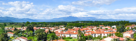 Mediterranean countryside Stock Images