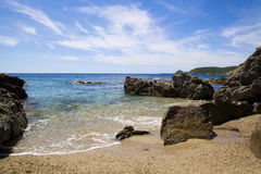 Mediterranean Cove Royalty Free Stock Photo