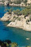 Mediterranean creeks Royalty Free Stock Photos