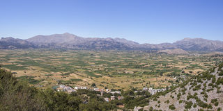 Mediterranean Crete Plateau Lasithi Royalty Free Stock Image