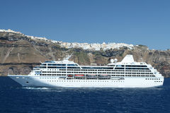 Mediterranean Cruise Ship Royalty Free Stock Images
