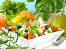 Mediterranean cuisine - Greece Stock Image