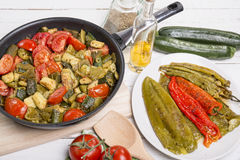 Mediterranean cuisine Stock Photo