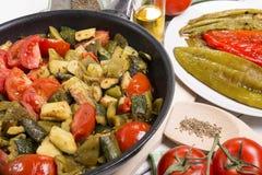 Mediterranean cuisine Royalty Free Stock Image