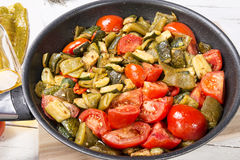 Mediterranean cuisine Royalty Free Stock Photo