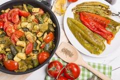 Mediterranean cuisine Stock Photography