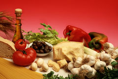 Mediterranean diet Royalty Free Stock Photo