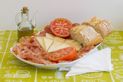 Mediterranean diet. Royalty Free Stock Photography